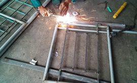 bí kíp hàn bản lề cửa sắt nhanh hiệu quả