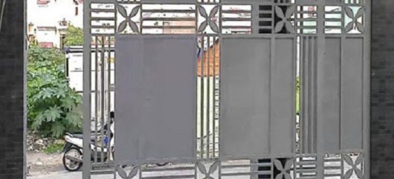 Cách biến 1 bộ cửa 4 cánh mở quay sắt thành bộ cửa sắt lùa 2 cánh đơn giản.