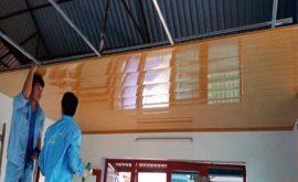 Kinh Nghiệm làm trần nhà bằng mái tôn